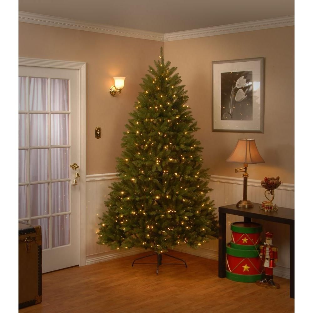 Martha Stewart Living 7 5 Ft Pre Lit Royal Douglas Fir Tree With