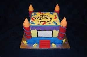 bounce house cakes - Bing Images