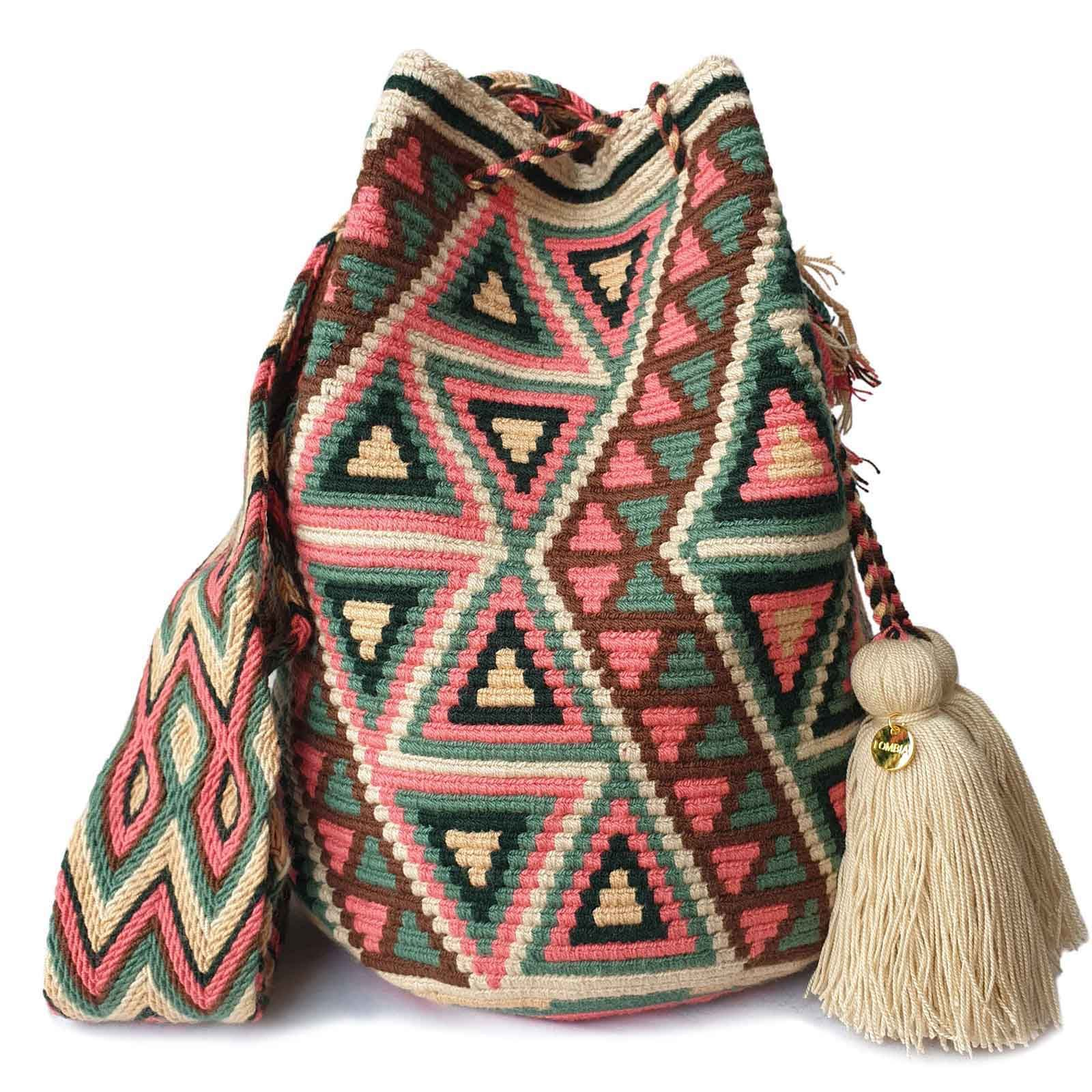 Gorgeous /& Authentic Handwoven WAYUU Mochila