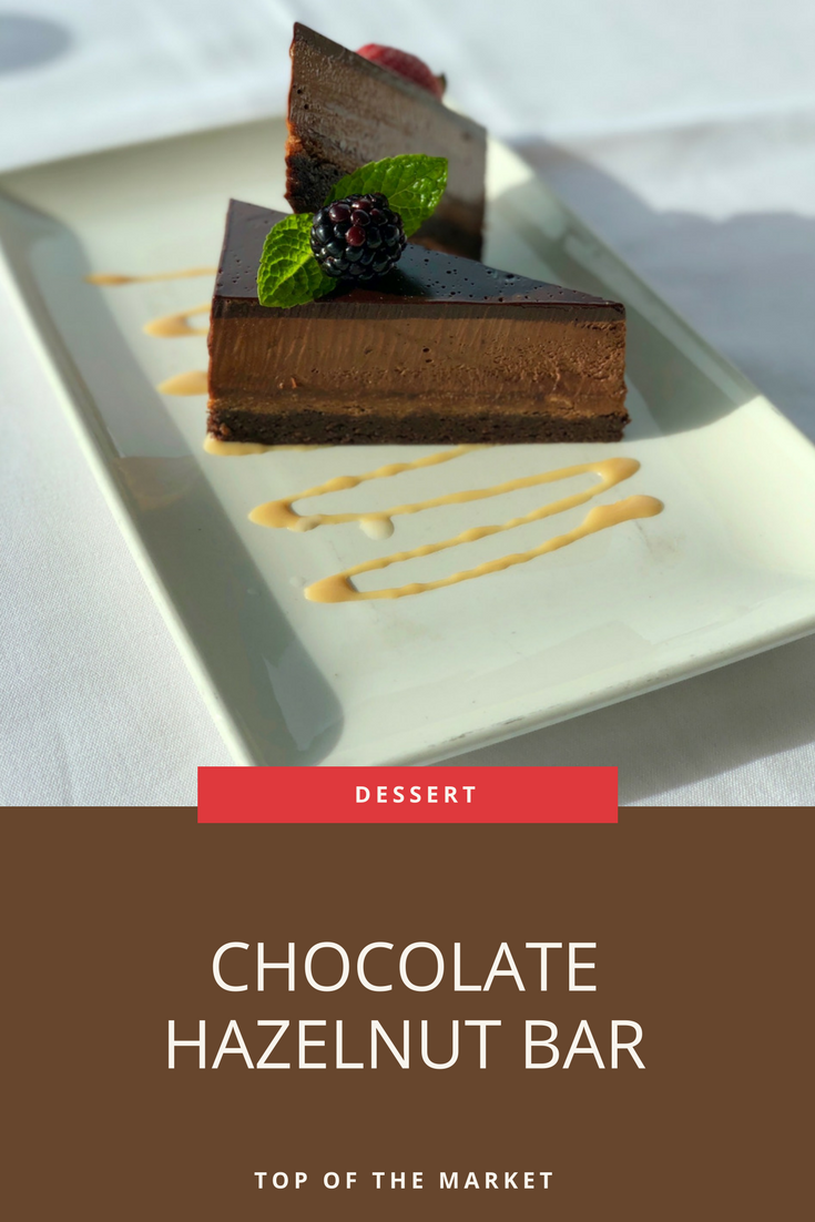 Chocolate Mousse Hazelnut And Chocolate Ganache Just Ask For