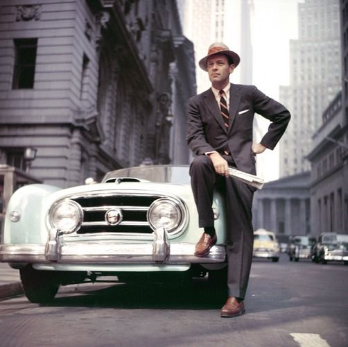 William holden in new york city 1950s cars of new york william holden in new york city 1950s publicscrutiny Gallery