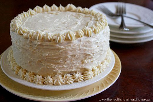 Vanilla Vegan Birthday Cake With Buttercream Icing