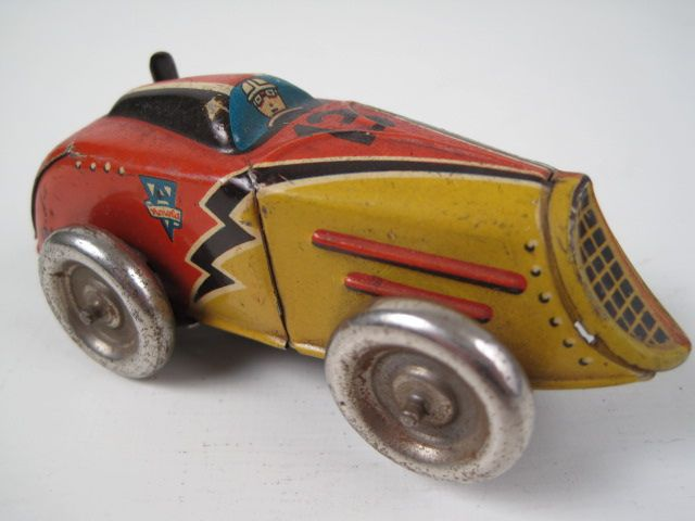 "Vintage toy car ""Arnold"" US Zone Germany. Learn about your collectibles, antiques, valuables, and vintage items from licensed appraisers, auctioneers, and experts at BlueVault. Visit:  http://www.BlueVaultSecure.com/roadshow-events.php"