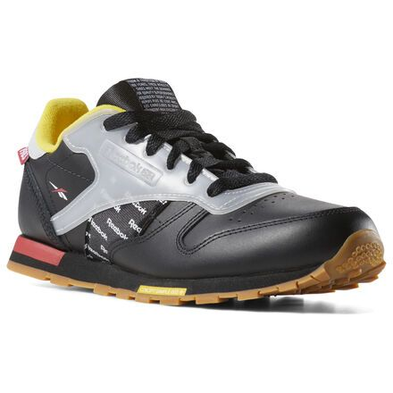 513d94b8b6 Reebok Shoes Unisex Classic Leather Altered - Grade School in Black ...