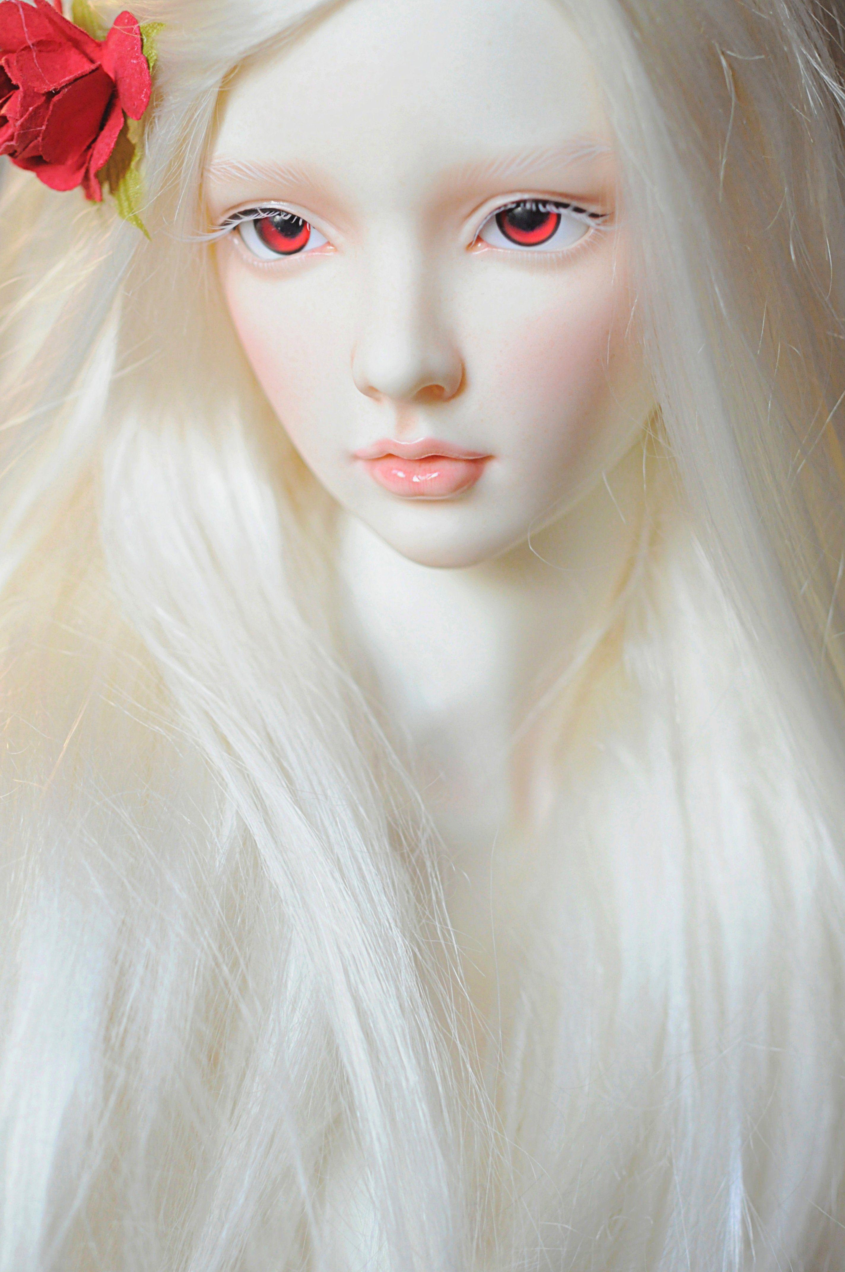 Doll Baby Toys Girl Beautiful Long Hair Red Eyes Rose Blonde Cute Wallpaper 2848x4288 781366 Rose Blonde Beautiful Long Hair Long Hair Styles