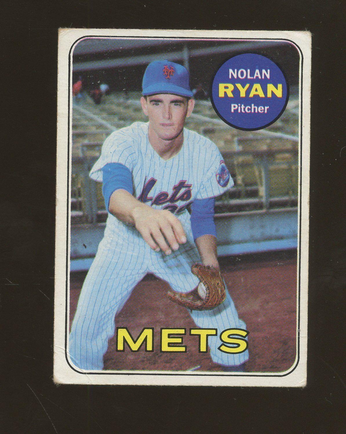 55ee67a67ef 1969 Topps  533 Nolan Ryan New York Mets HOF  BaseballCards ...