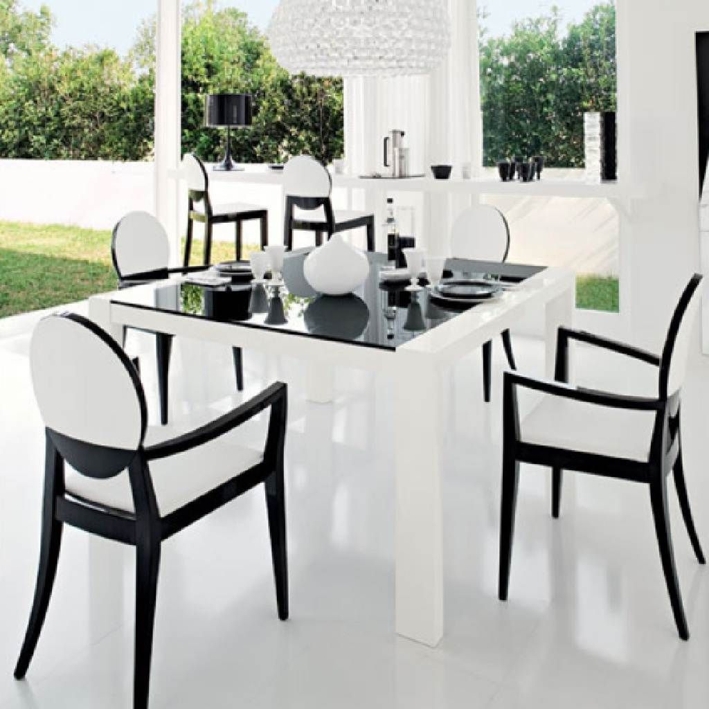 black white dining chairs | Winda 7 Furniture
