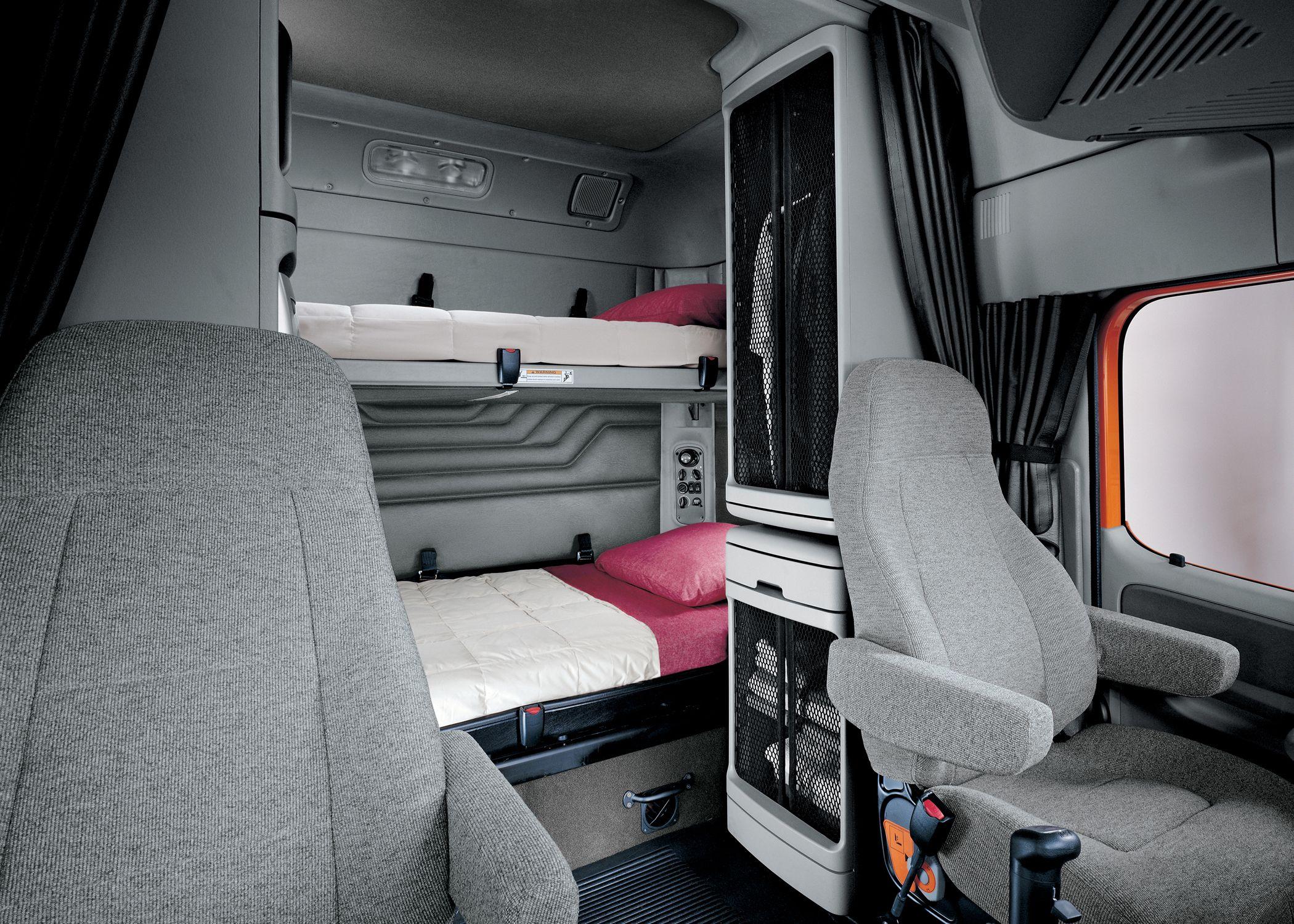 Freightliner Century Class St Freightliner Freightliner Trucks Semi Trucks Interior