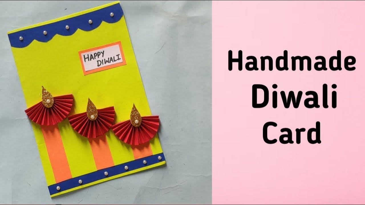 Diwali Card Making Handmade Easy How To Make Diwali Greeting Card Ea Diwali Card Making Diwali Greeting Cards Diwali Greetings