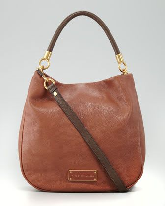 36b1fbdd64dc1 MARC by Marc Jacobs Too Hot to Handle Two-Tone Hobo Bag, Brown - Neiman  Marcus