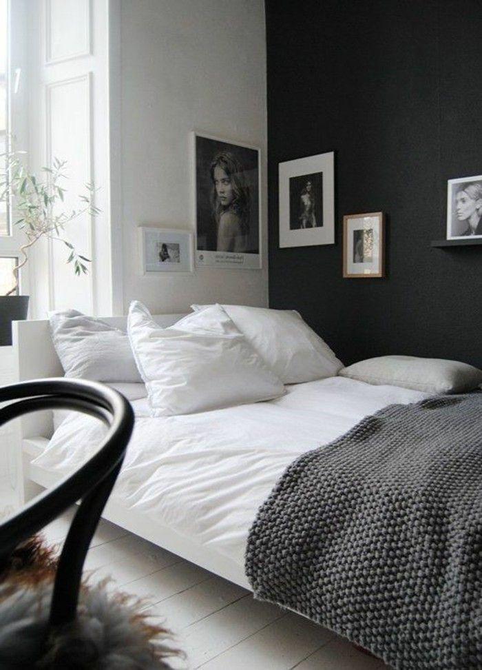 Schlafzimmer Wandfarbe Ideen in 140 Fotos! Bedroom Pinterest