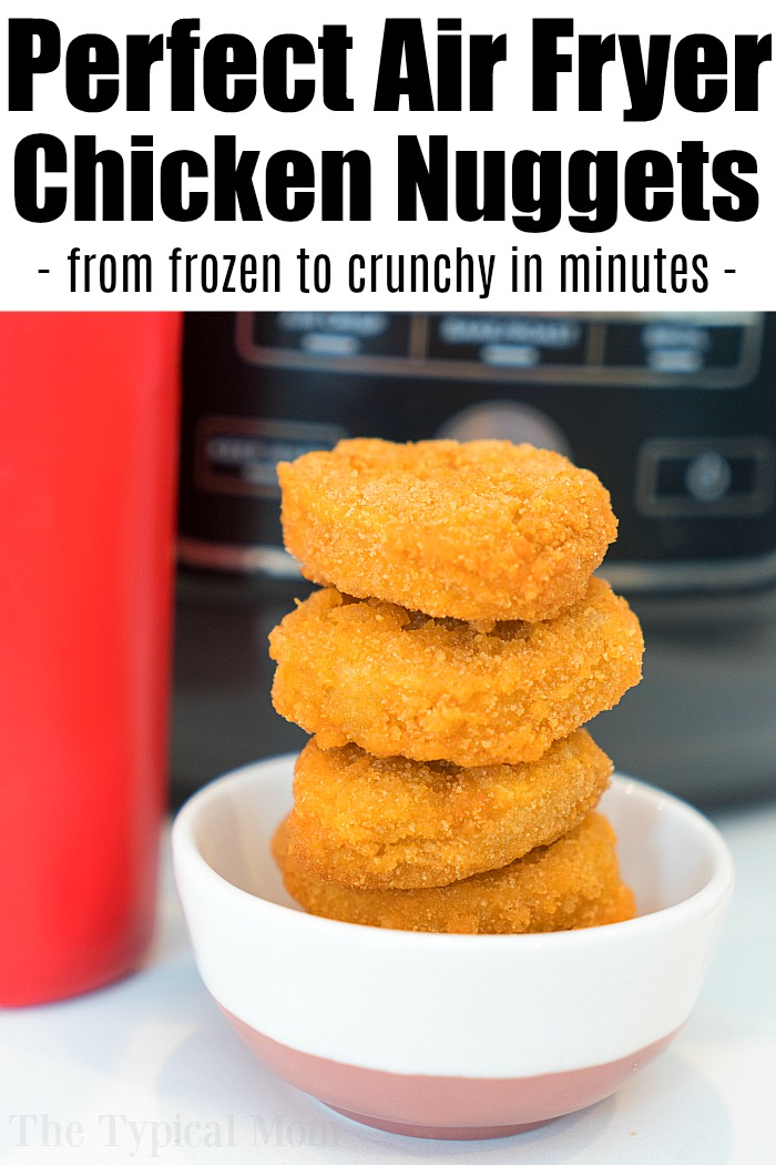 Frozen to perfect air fryer frozen chicken nuggets in your