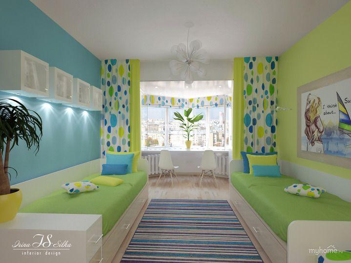 детские комнаты для двоих детей дизайн фото: 26 тис ...