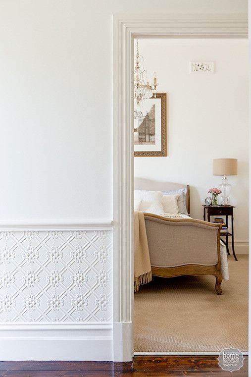 Wainscoting Via Paintable Wallpaper   Maze Pattern Pressed Metal Wall  Panelling. Available In 1800 X And 1800 X Panels At Period Details