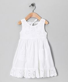 Eyelet Baby Dress | GIRLS DRESS | Pinterest