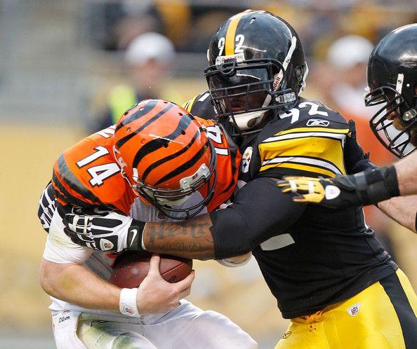 James Harrison - Cincinnati Bengals v Pittsburgh Steelers