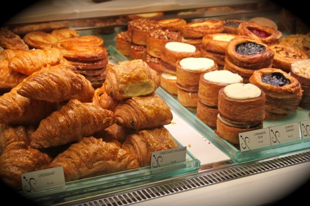 Fresh Pastries at Jean Philippe Patisserie at the Aria in Vegas! YUM!