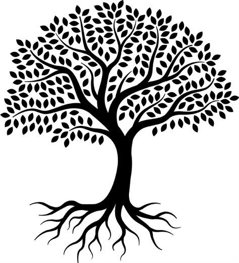 Websites Vs Trees Close Cousins Tree Drawing Simple Roots Drawing Tree Drawing