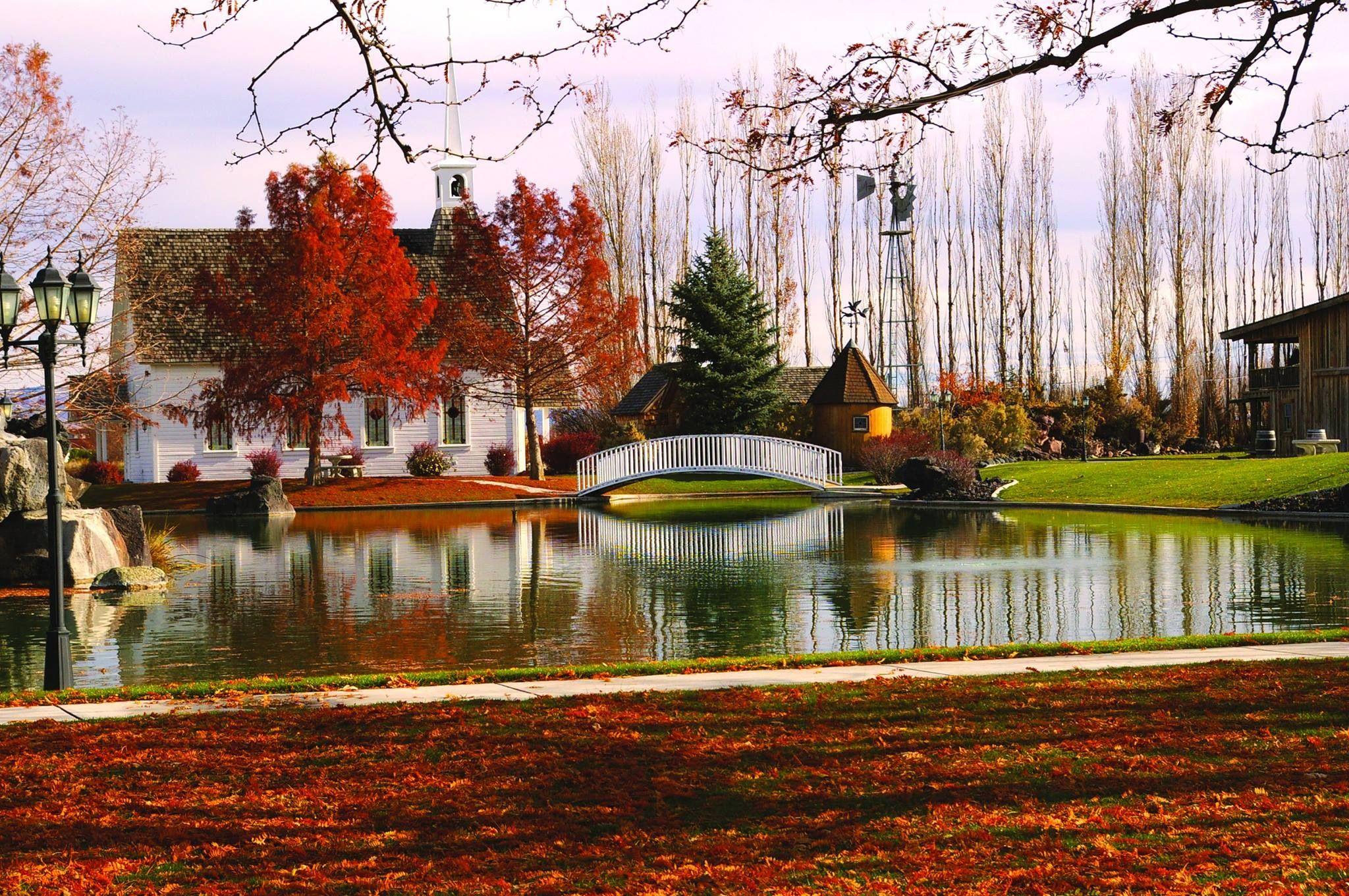 Fall At Still Water Hollow In Nampa Idaho