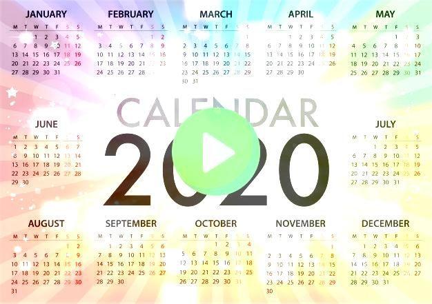 para la semana 2020 comienza   Premium VectorCalendario para la semana 2020 comienza   Premium Vector Discover thousands of copyrightfree vectors Graphic resources for pe...