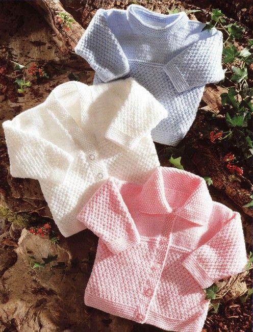 Stylecraft--Cardigans and Sweater (preemie - age 4) | tejido dos ...