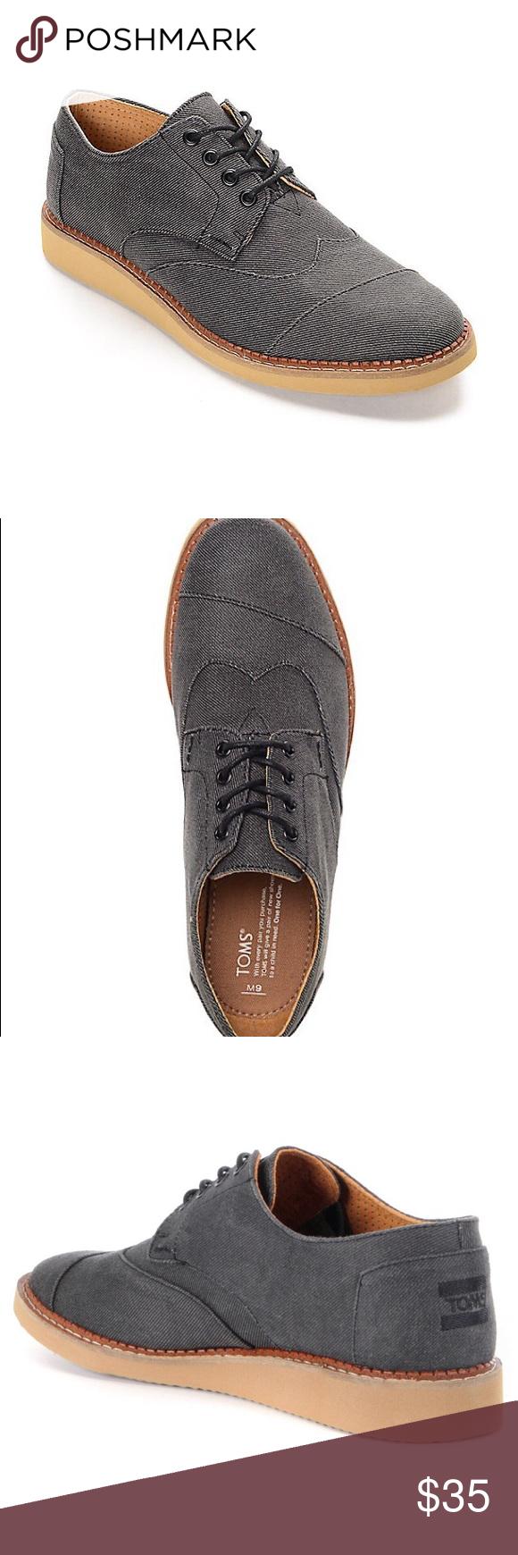 6b249c0e335 Toms Brogue Ash Aviator Twill Shoes Toms Brogue Ash Aviator Twill Shoes Pre  owned Size 10 Toms Shoes Oxfords   Derbys
