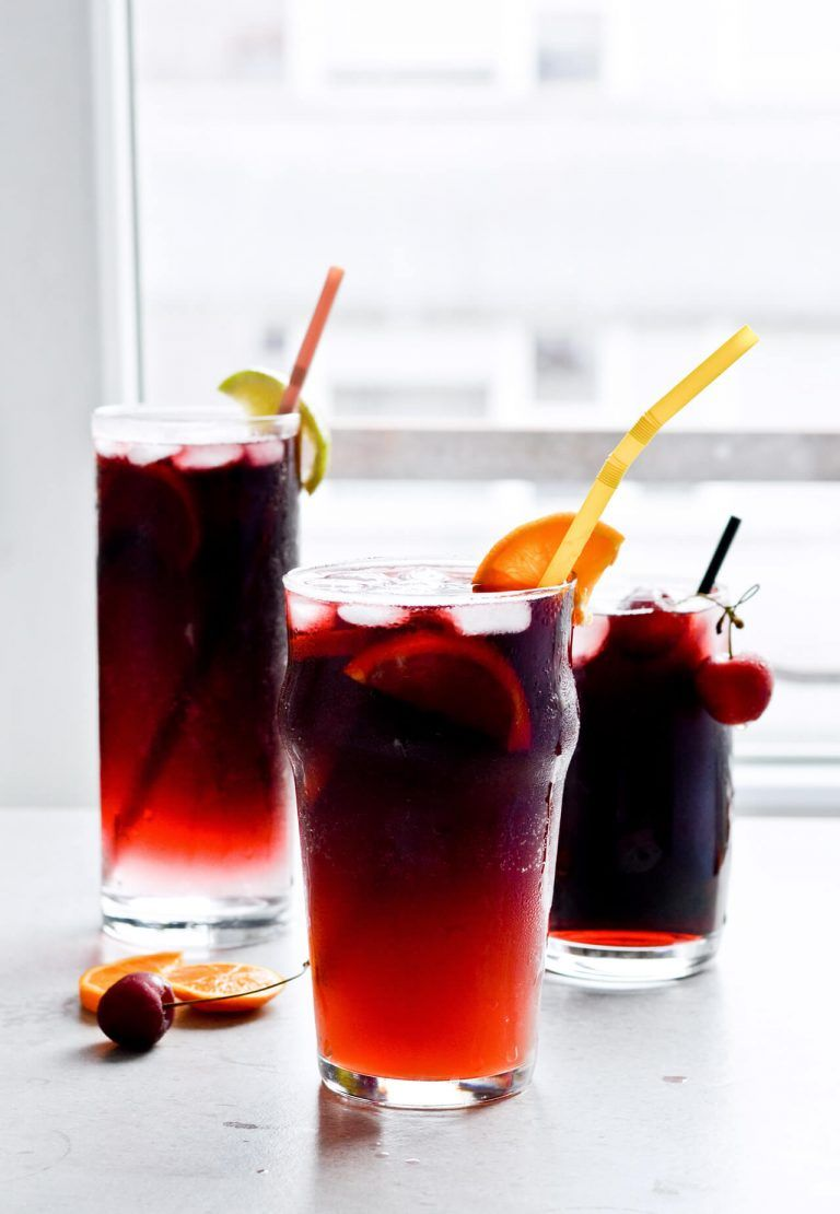 Red Wine Spritzer 3 Ways Sugar Salted Red Wine Spritzer Wine Spritzer Wine Spritzer Recipe