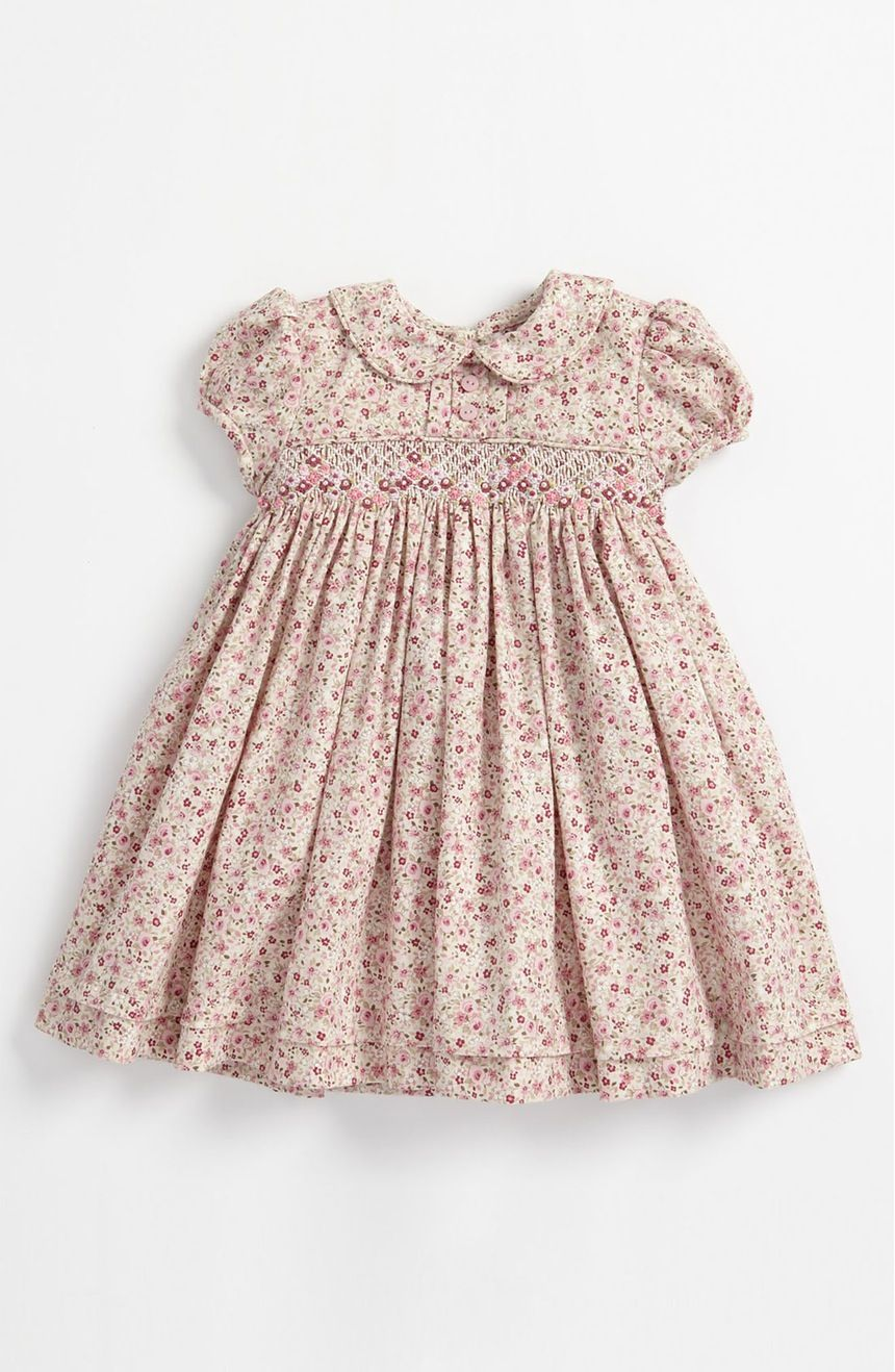 3a4ca5fed Main Image - Luli & Me Floral Smocked Dress (Infant) | Baby stuff ...