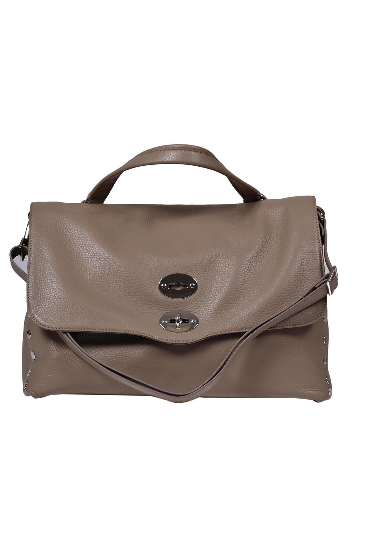 Zanellato Postina M Daily dark brown bag Ufa9VLBzX