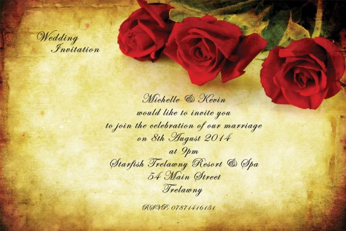 design wedding invitation flyer poster by leo_angel Design ideas - wedding flyer