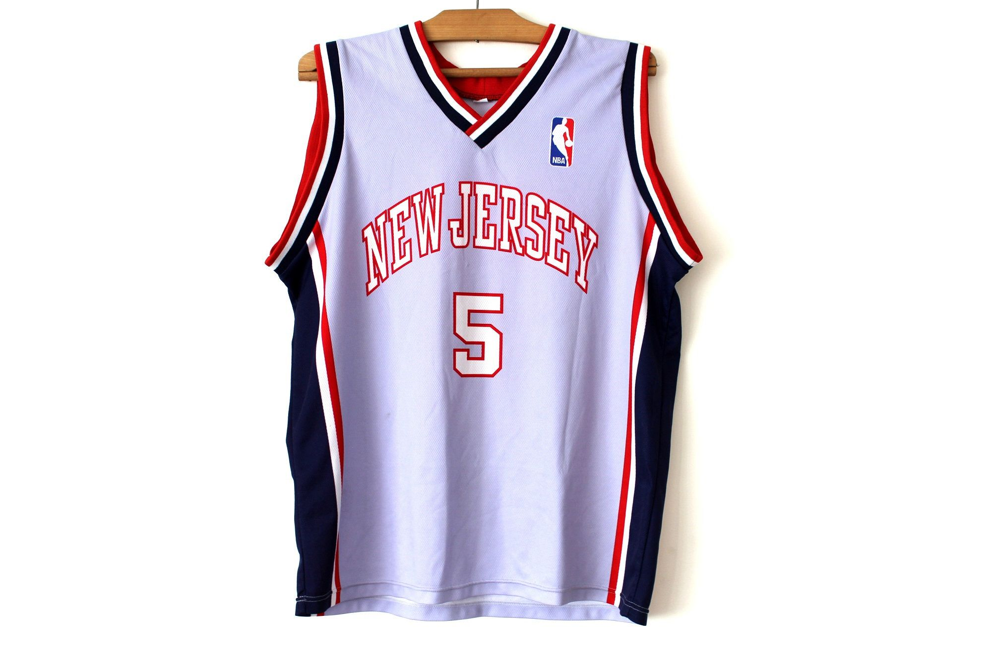 Vintage Basketball Jersey New Jersey Nba Basketball Tank Top Outdoor Jersey Athletic Tank Sport Tank Top Outdoor Jersey Size Xl In 2020 Basketball Tank Tops Vintage Basketball Jerseys Basketball Jersey