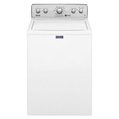 Maytag 4.2 cu. ft. Top Load Washer in White with Deep Water Wash and PowerWash-MVWC565FW - The Home Depot