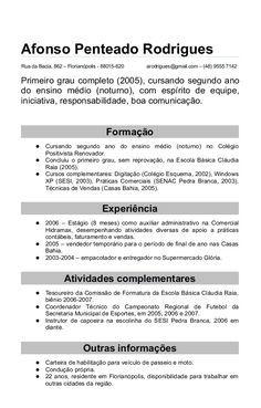 10 Modelo De Curriculo Vitae Gratis Modelo De Curriculo