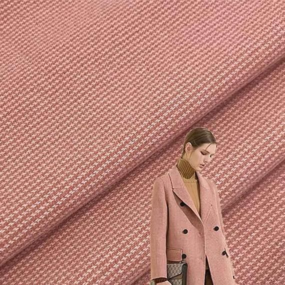 1 Yard Knitted Woolen Fabric, 280g Houndstooth Fabric,Autumn/ Winter Fabric, Coat/Suit /Dress/Scarf/ -   19 DIY Clothes For Winter fabrics ideas