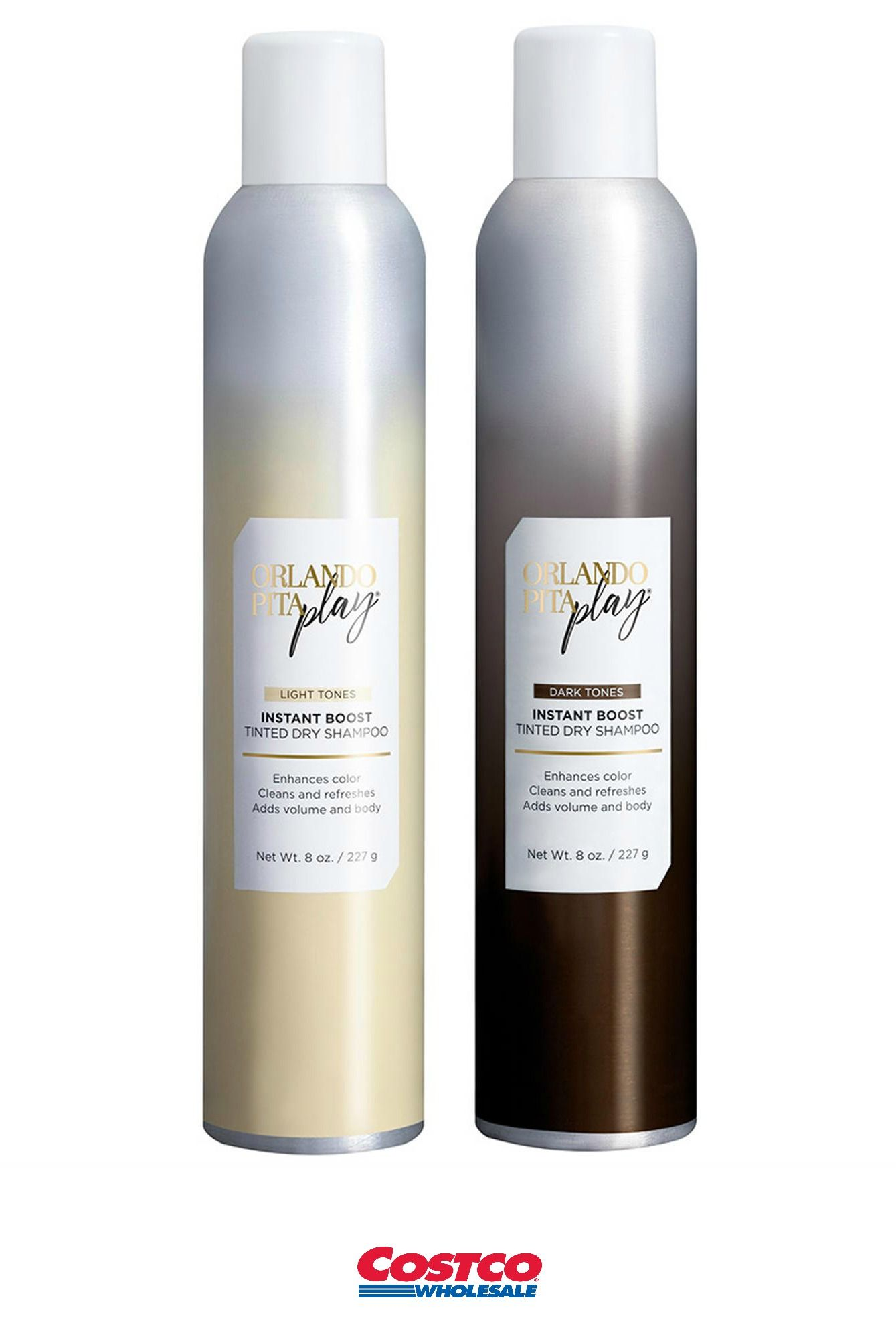 Orlando Pita Play Tinted Shampoo Shampoo Dry Shampoo Shampoo Bottle