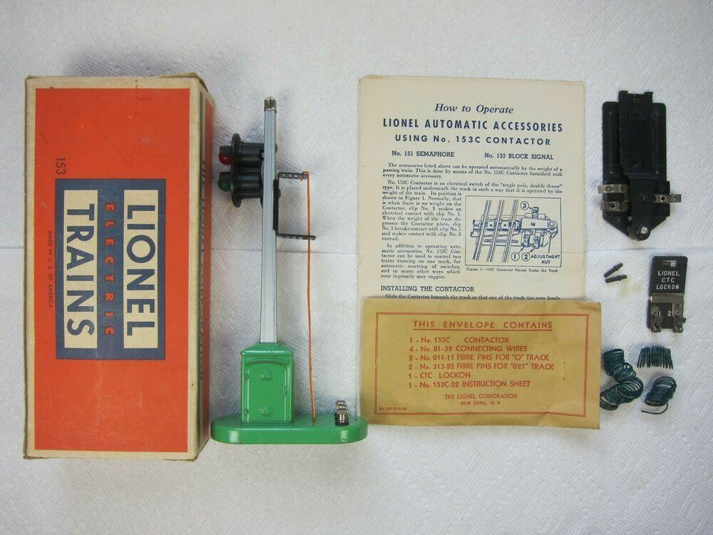 Groovy Ebay Sponsored Lionel Post War No 153 Block Signal 1950 Original Wiring Database Brom4X4Andersnl