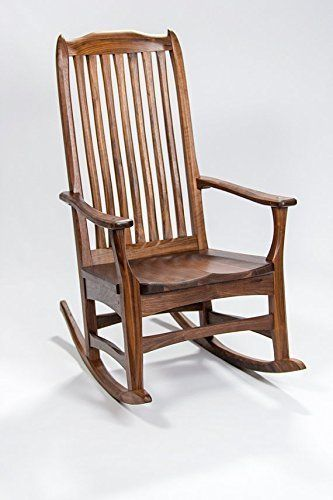Handmade Furniture Rocking Chair   American Black Walnut U003eu003eu003e To View  Further For This