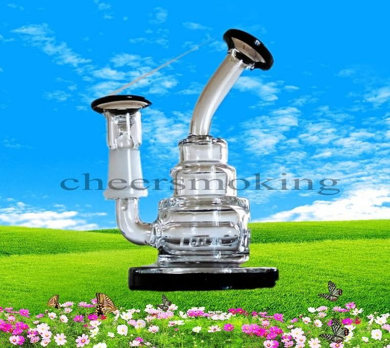 Best Clear Mini Water Pipes Glass Bubbler Cheap Thicken Inline Perc Bongs Cheap Black Base High Quality Handblown Bong 14.4mm Joint Hookahs From Cheersmoking, $20.11 | Dhgate.Com