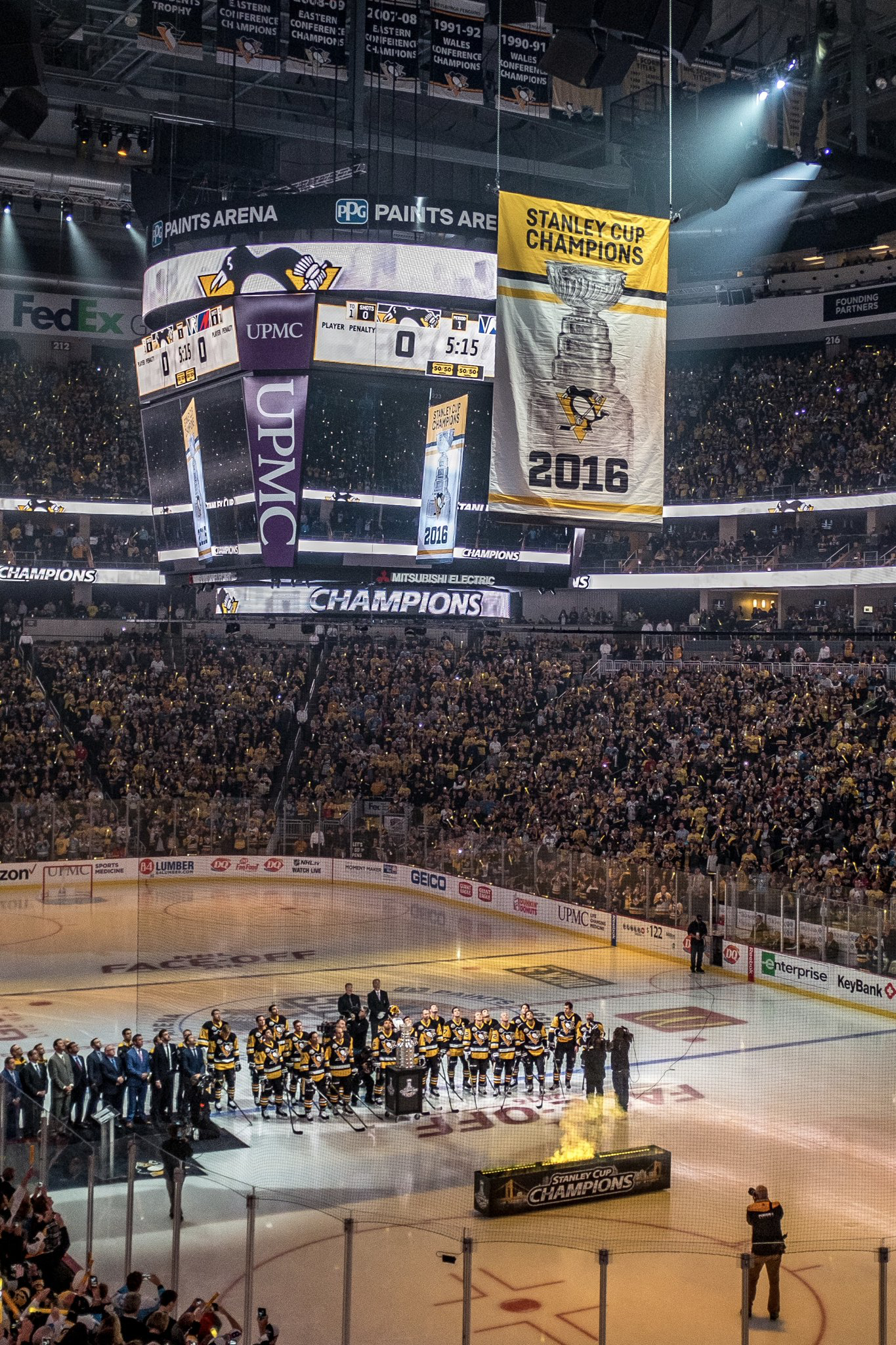 Cool Pittsburgh Penguins Stanley Cup Banner