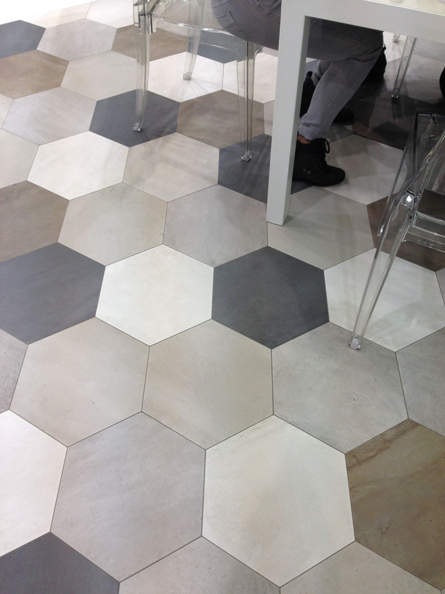 Domus by ceragres for the entryway and perhaps kitchen eating domus hexagonal tile by euro ceramic tile dailygadgetfo Image collections