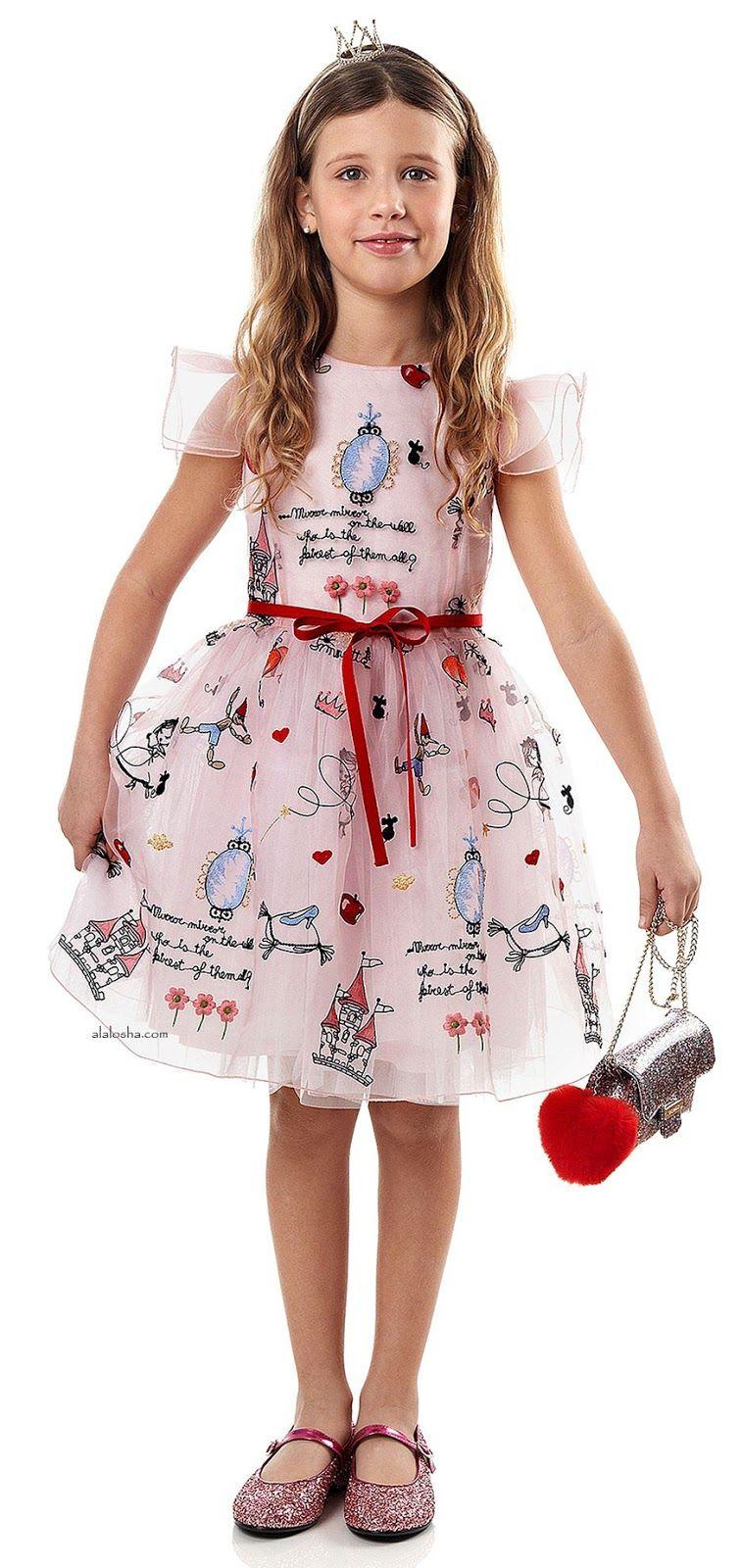alalosha vogue enfants oh those dresses those colors meet