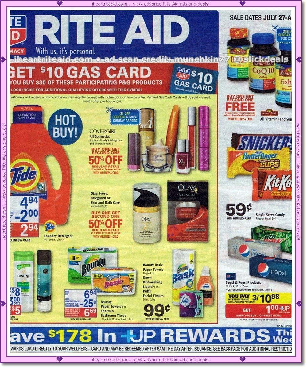rite aid gift card deals