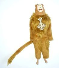 "Vintage Wizard of Oz 11"" Figurine Cowardly Lion 1981"