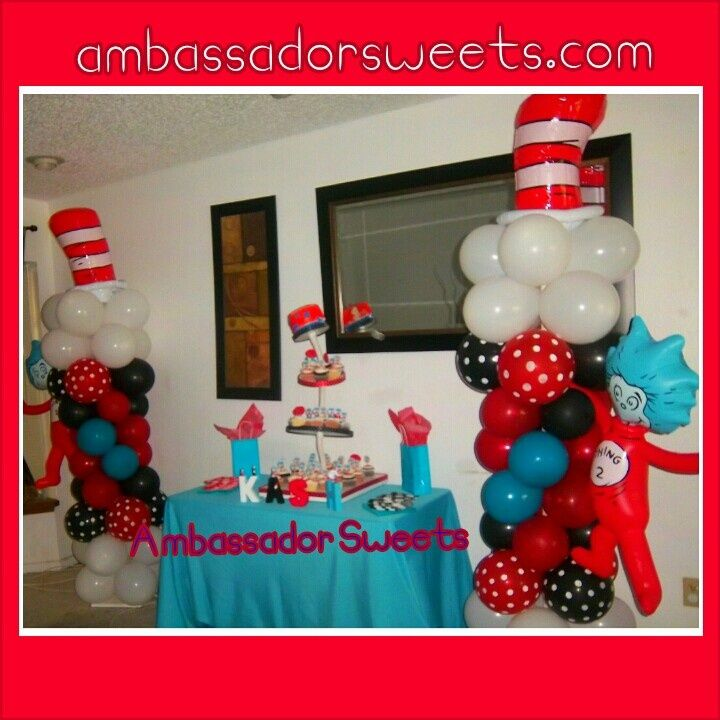Dr Seuss Baby Shower Ideas | Dr. Seuss Baby Shower Decorations | Parties  And Celebrations