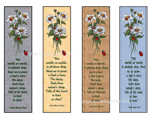 Serenity Prayer Printable Bookmark BOOKMARKS Serenity prayer