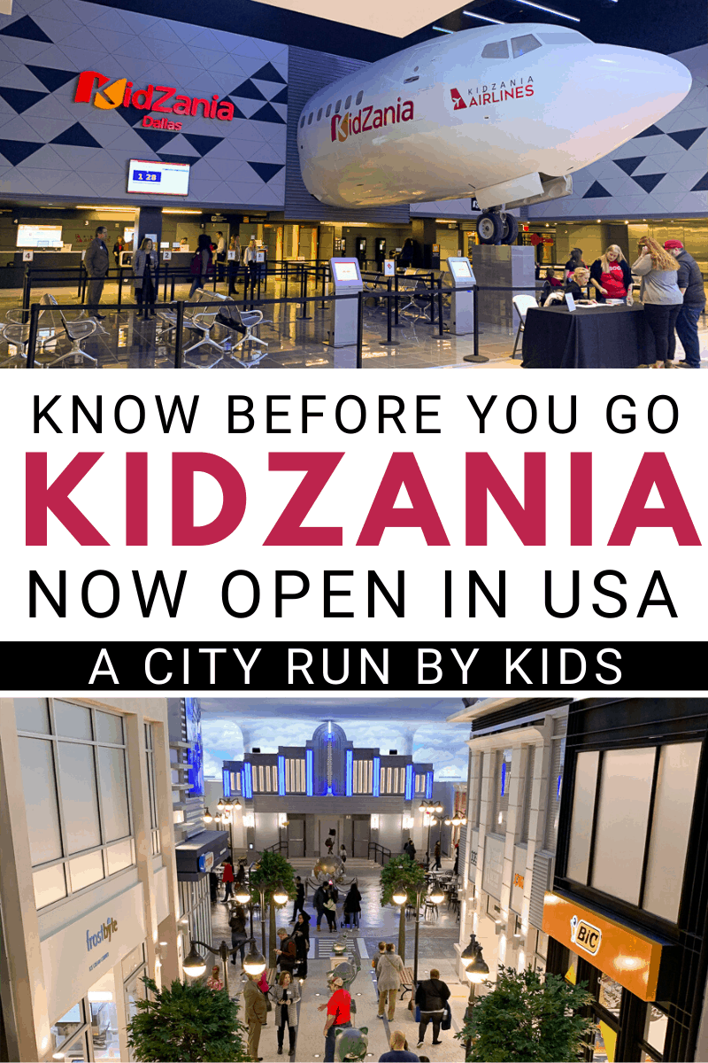Know Before You Go Kidzania Usa Now Open In Frisco Family Vacations In Texas Texas Travel Vacation