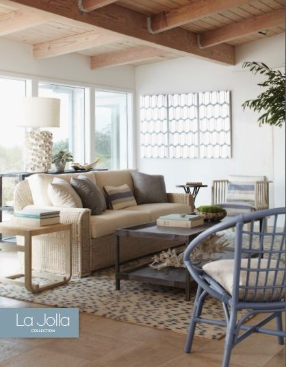 Jeffrey Alan Marks For Palecek La Jolla Collection Extraordinary La Jolla Living Room 2018