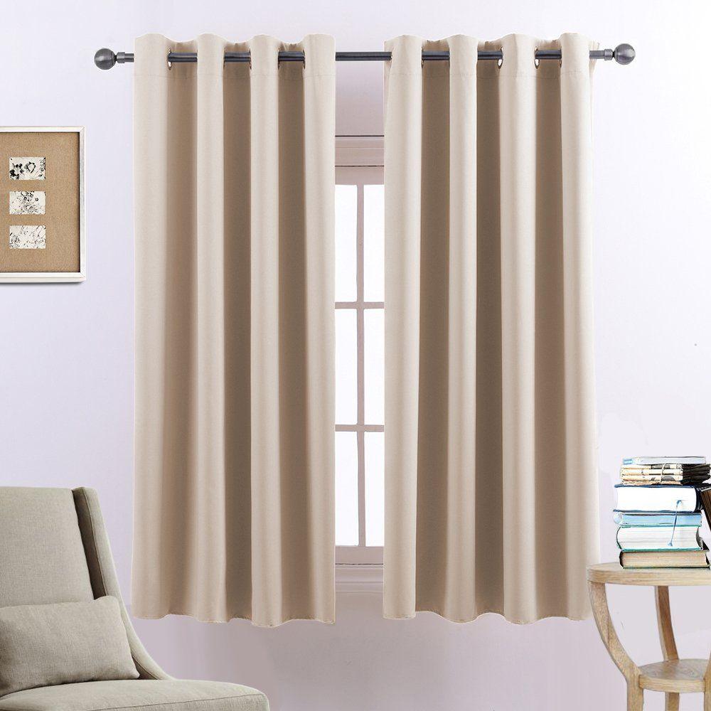 Voilybird Room Darkening Window Curtains Block Sunlight Keep