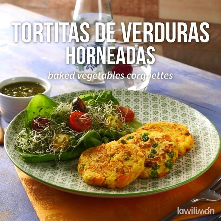 Tortitas de Verduras Horneadas