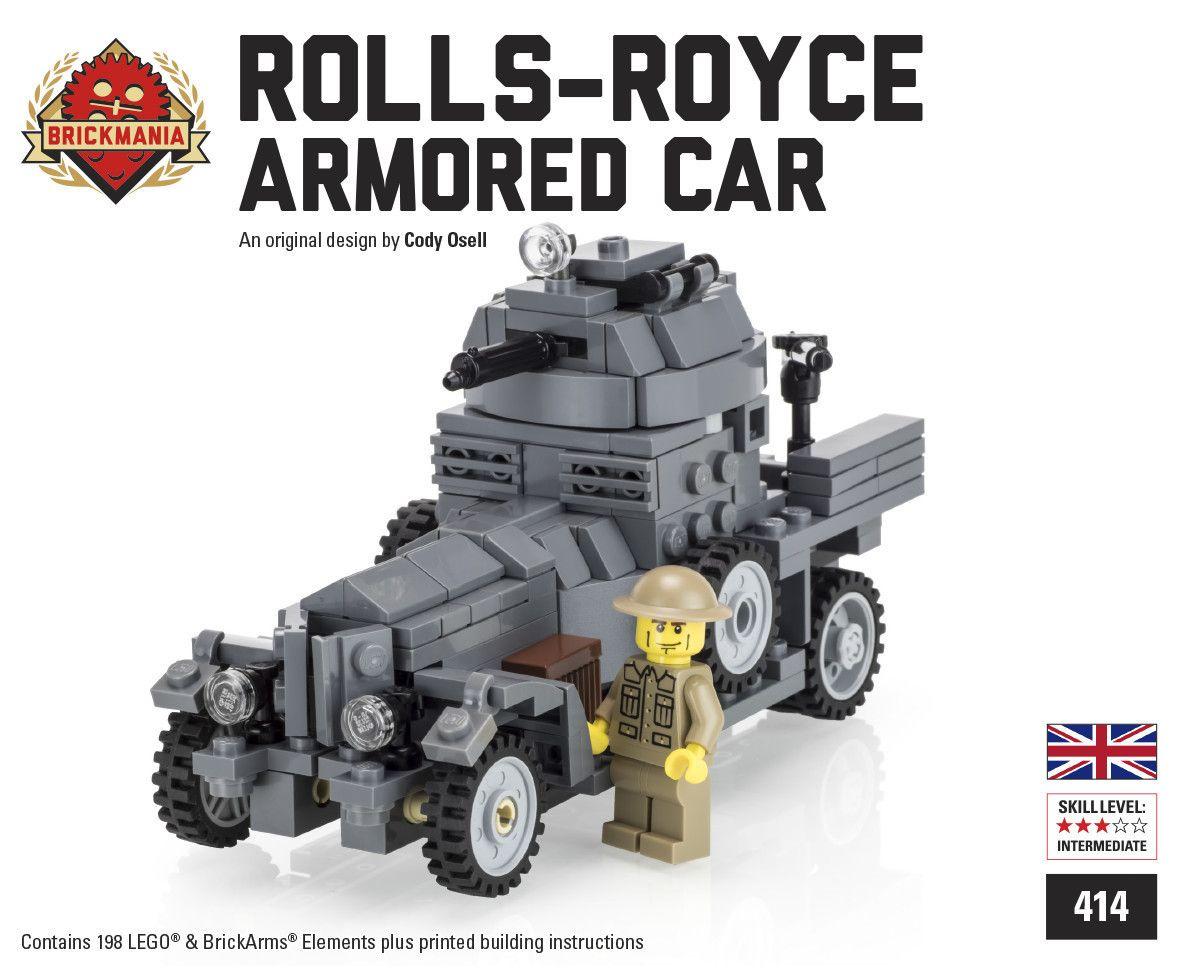BM Rolls-Royce Armored Car (Gray)
